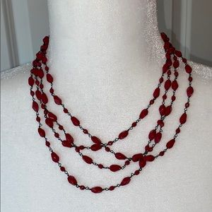 Vintage J. Jill Multi-Strand Necklace